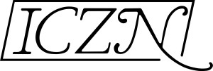 ICZN logo by Martyn E. Y. Low. CCBY license.