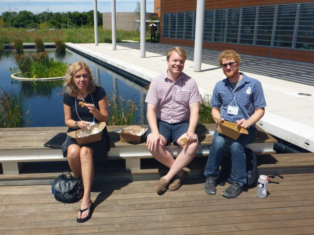 Aurora Nedelcu, Brad Olson, and Erik Hanschen.