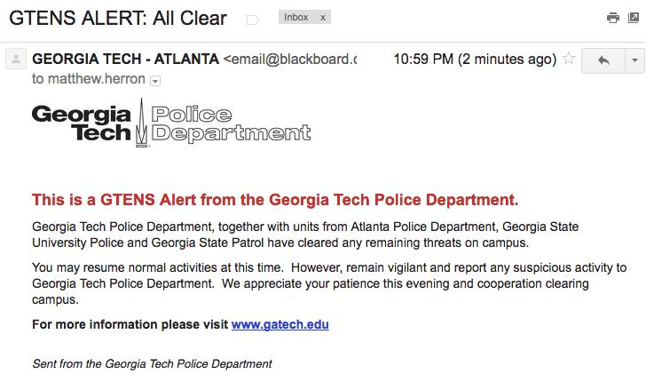 GTENS alert