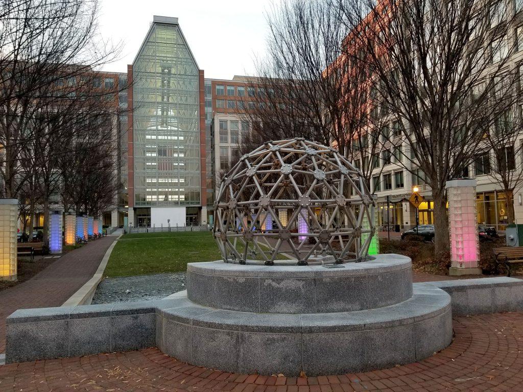Volvox sculpture