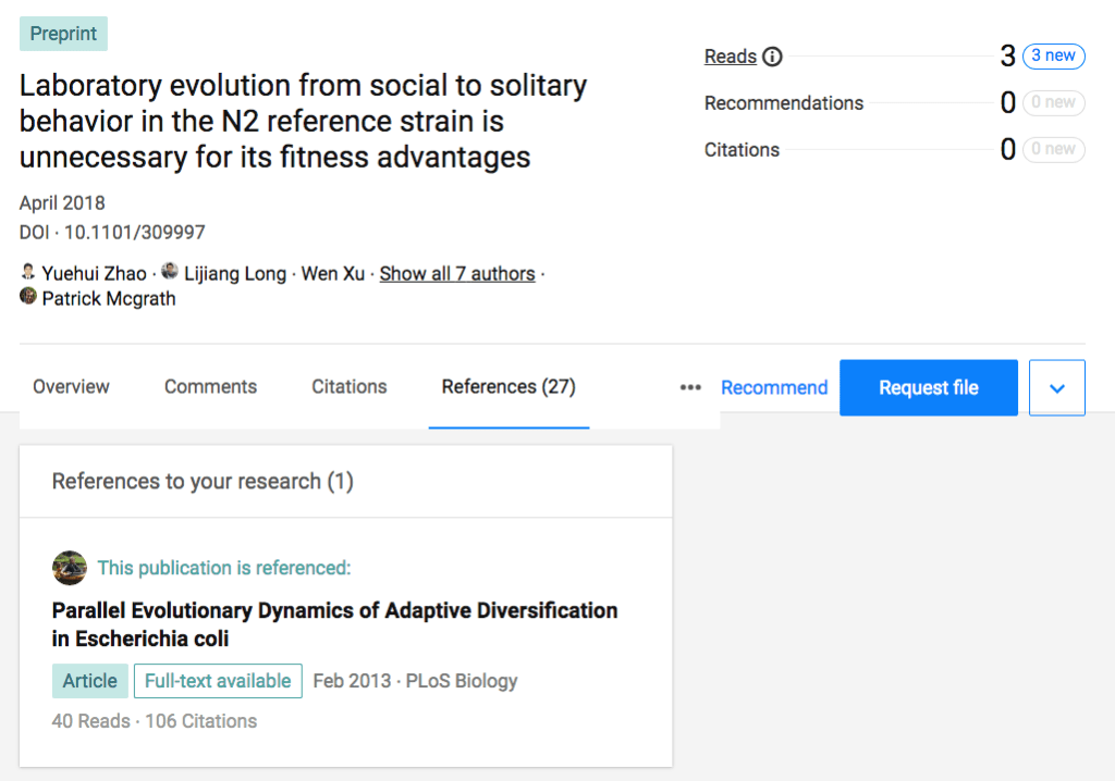 ResearchGate screenshot