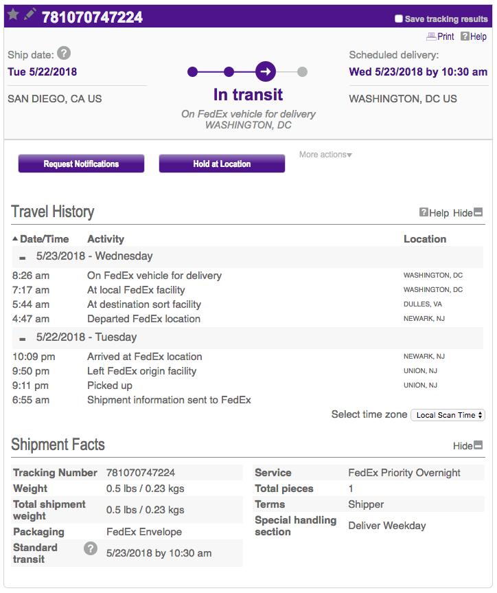 Scammer FedEx