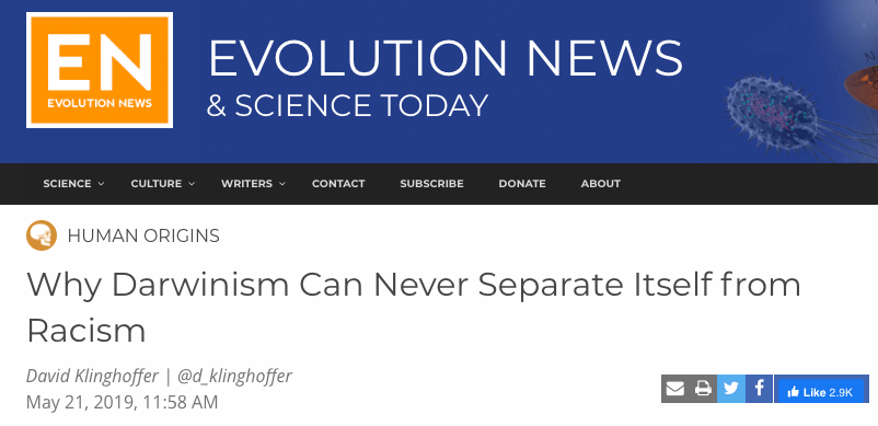 Evolution News & Views screenshot
