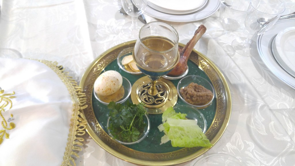 Our Passover Seder Plate