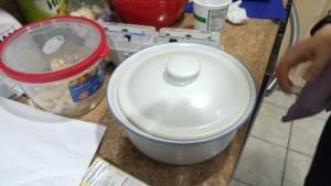 Covered Casserole Dish