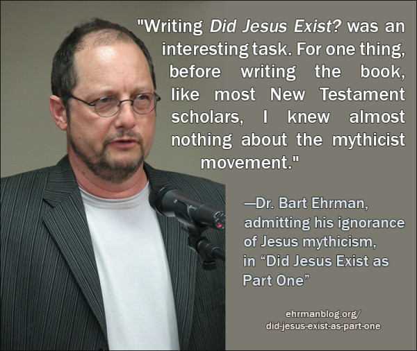 Bart Ehrman's ignorance