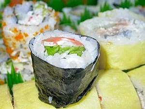 Stock Image - Sushi Platter