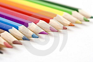 Free Stock Photo - Color Pencils