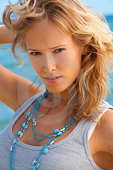 Stock Images - Fashion shot on the beach