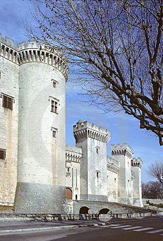 Stock Photo - Tarascon castle