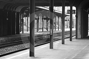 Stock Image: Train Station. Image: 161331