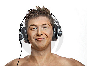 Stock Photo - Handsome DJ