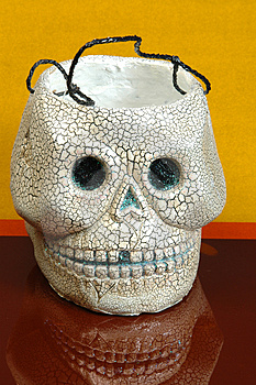 Stock Image: Halloween Skull Picture. Image: 219621