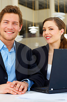 Stock Images - Workgroup interacting