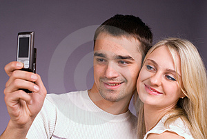 Stock Images - The guy and the girl