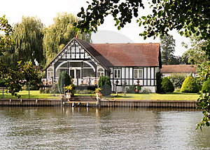 Stock Photos - Riverside Dwelling
