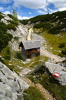Stock Images - Alpine hut