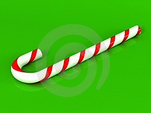Stock Photo - Candy Cane