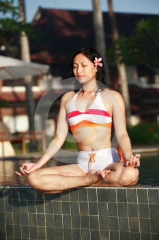 Free Stock Image - Woman Meditating