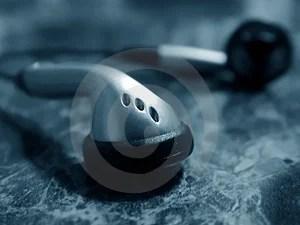 Stock Image - Headphone