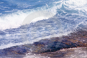 Stock Photos: Water & rock. Image: 55113