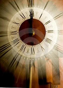 Stock Images - Old vintage clock