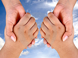 Stock Photography - SUECESS HAND SHAKE