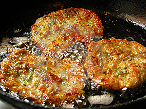 Stock Image - Viennese schnitzel