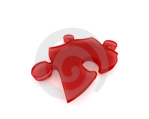 Stock Images - Puzzle Piece001