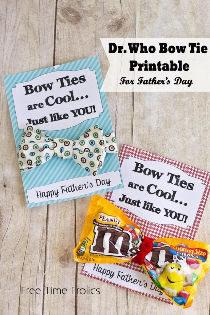 fathers day bow tie, gift www.freetimefrolics.com