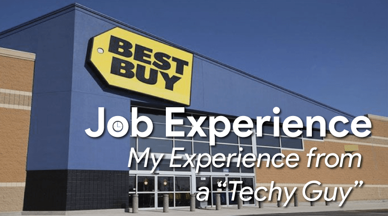 Working at BestBuy – My Job Experience