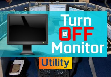 Turn Off Monitor Utility