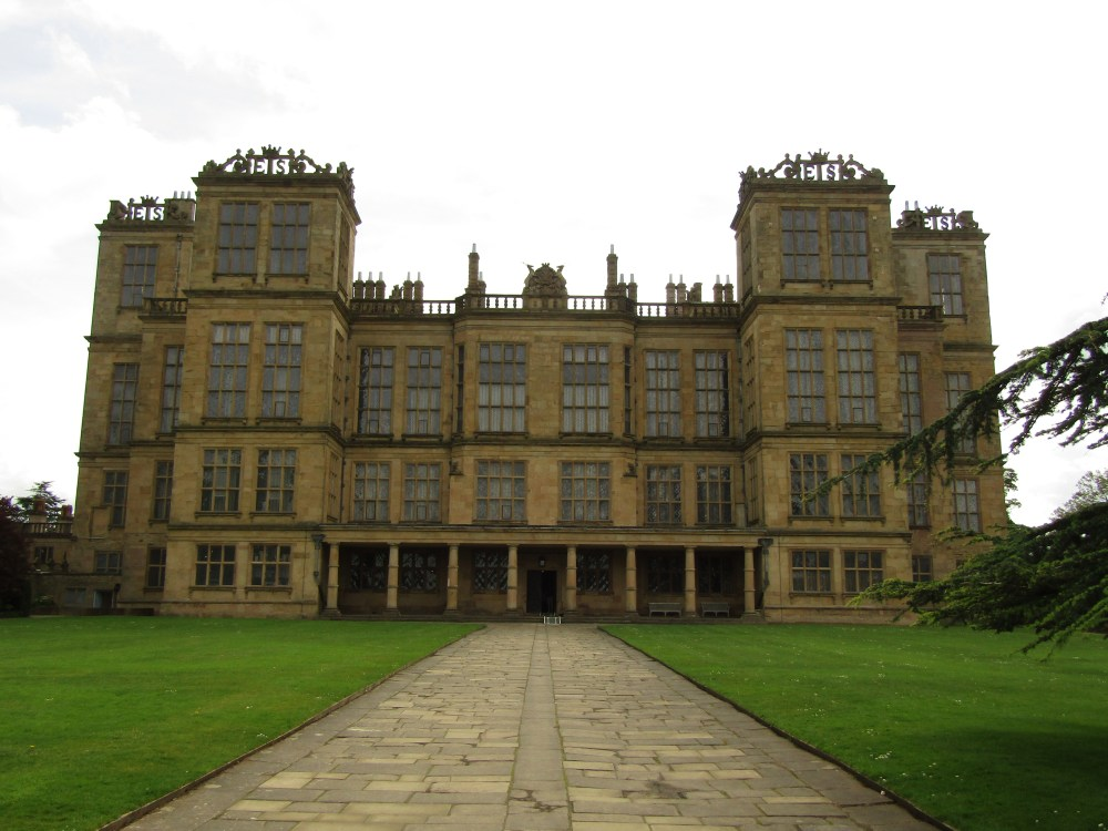 Hardwick Hall in Derbyshire