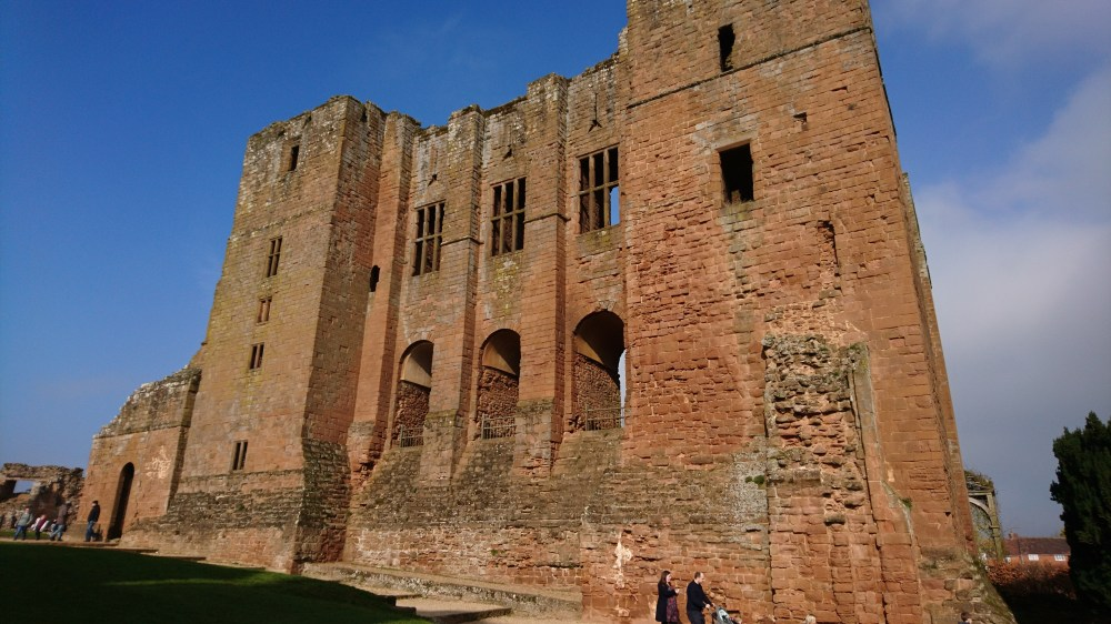 The ruins at Kenilworth Castle