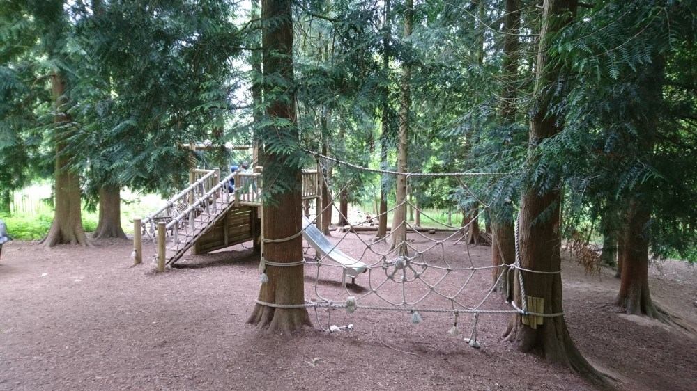 The children's play area at Greys Court