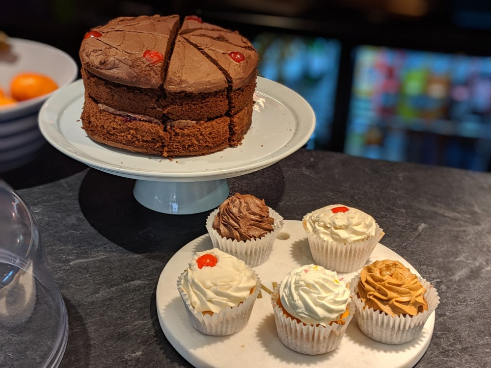 Some of the home made cakes on offer at Your Cafe in the Park