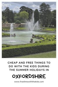 What's on Summer holidays | Oxfordshire