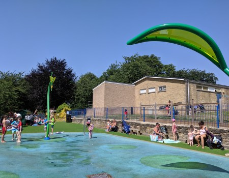 Cutteslowe Park Splash Park Review Oxford