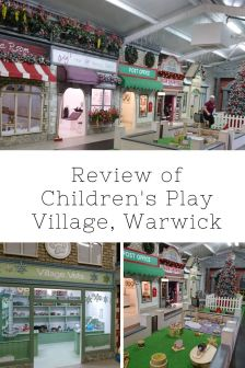 Children's Play Village Warwick Review | Role play village