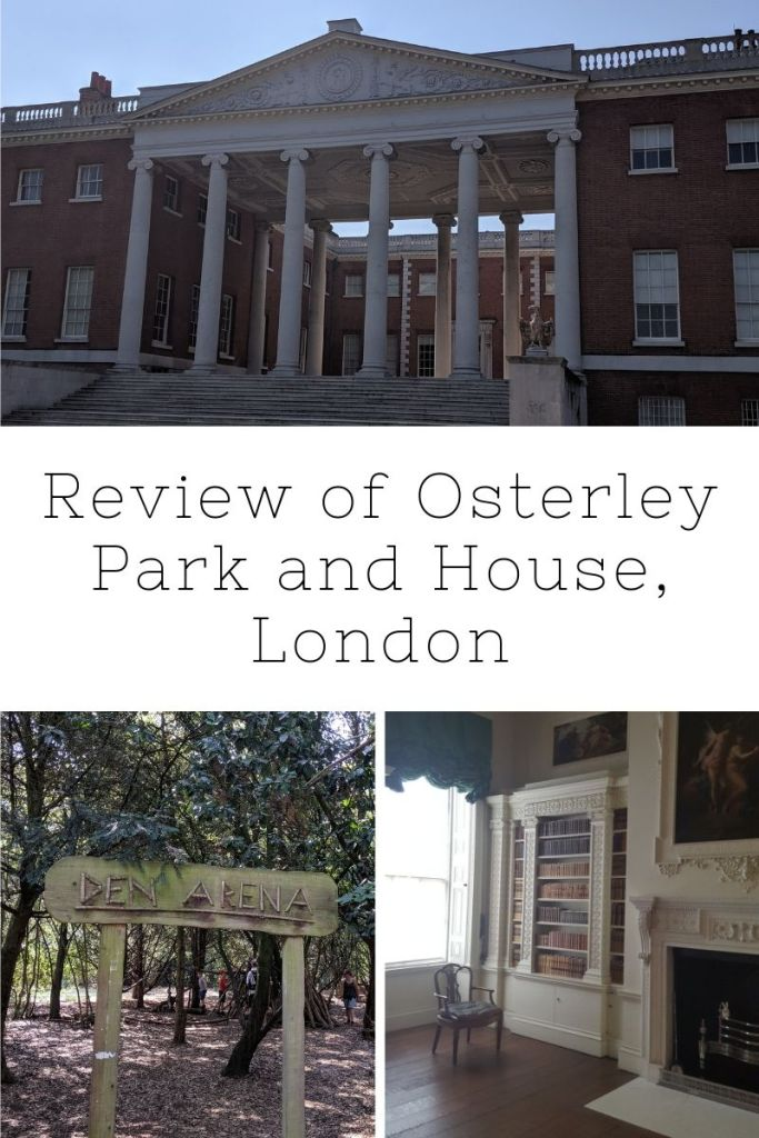 Review of Osterley Park and House | London | Free Time with the Kids