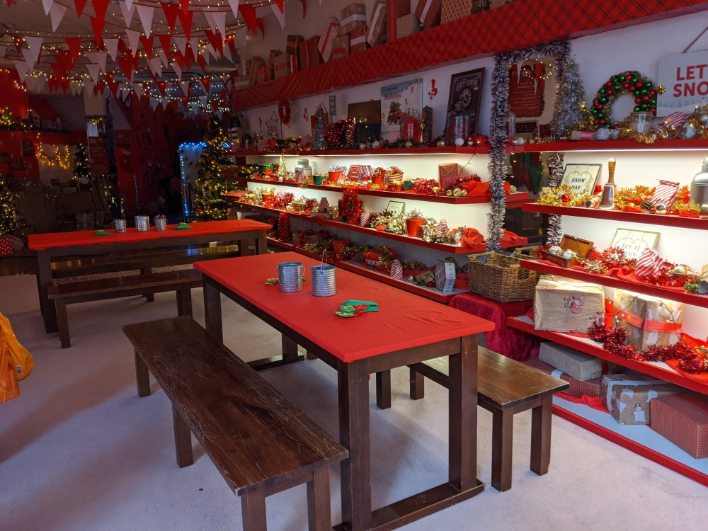 High Wycombe Santa's Grotto | Free Time with the Kids