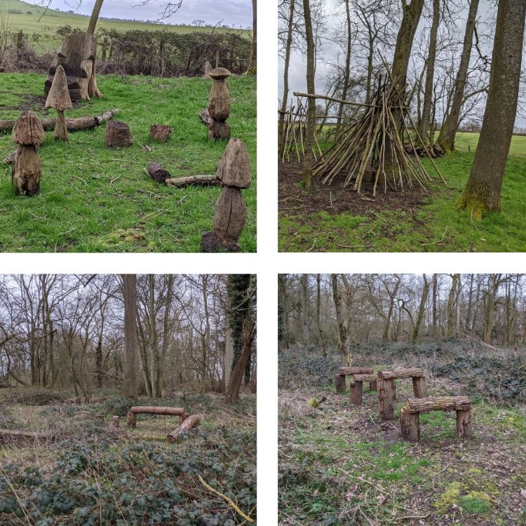 Wild Play area | Boarstall Duck Decoy Review | Bicester, Oxfordshire / Buckinghamshire | Free Time with the Kids