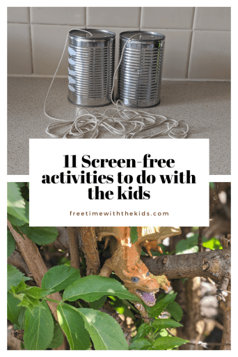 Cheap children's crafts and activity ideas | Free Time with the Kids