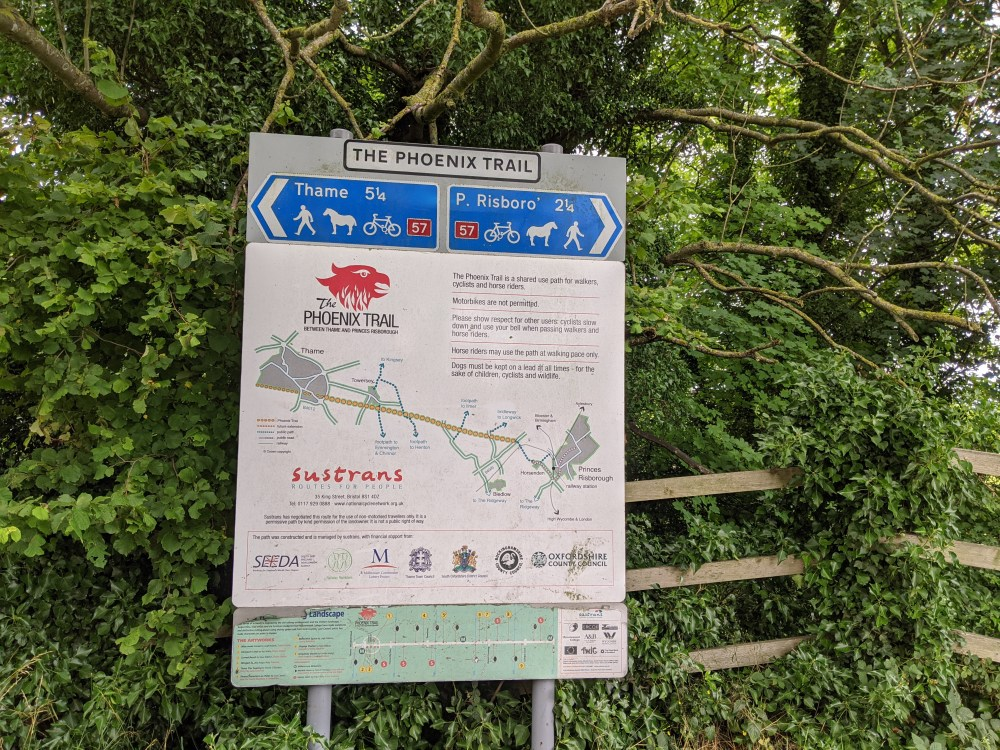 Phoenix Trail Review | Princes Risborough to Thame | National Cycle Path | Review by Free Time with the Kids