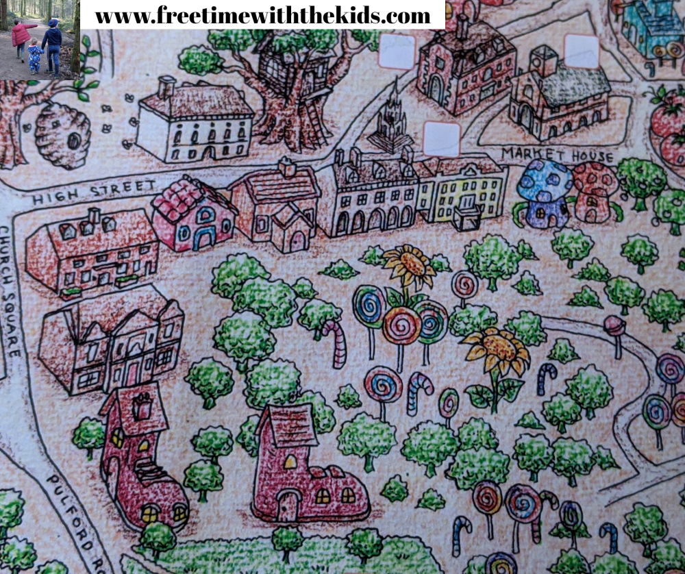 Treasure Map Trails | Leighton Buzzard | Review by Free Time with the Kids | Things to do in Bedfordshire