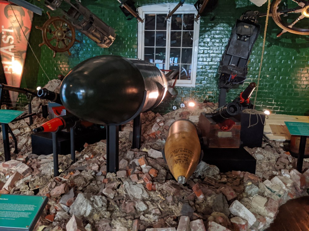 HMS Explosion Museum of Naval Firepower | Historic Dockyard Review | Portsmouth | Free Time with the Kids