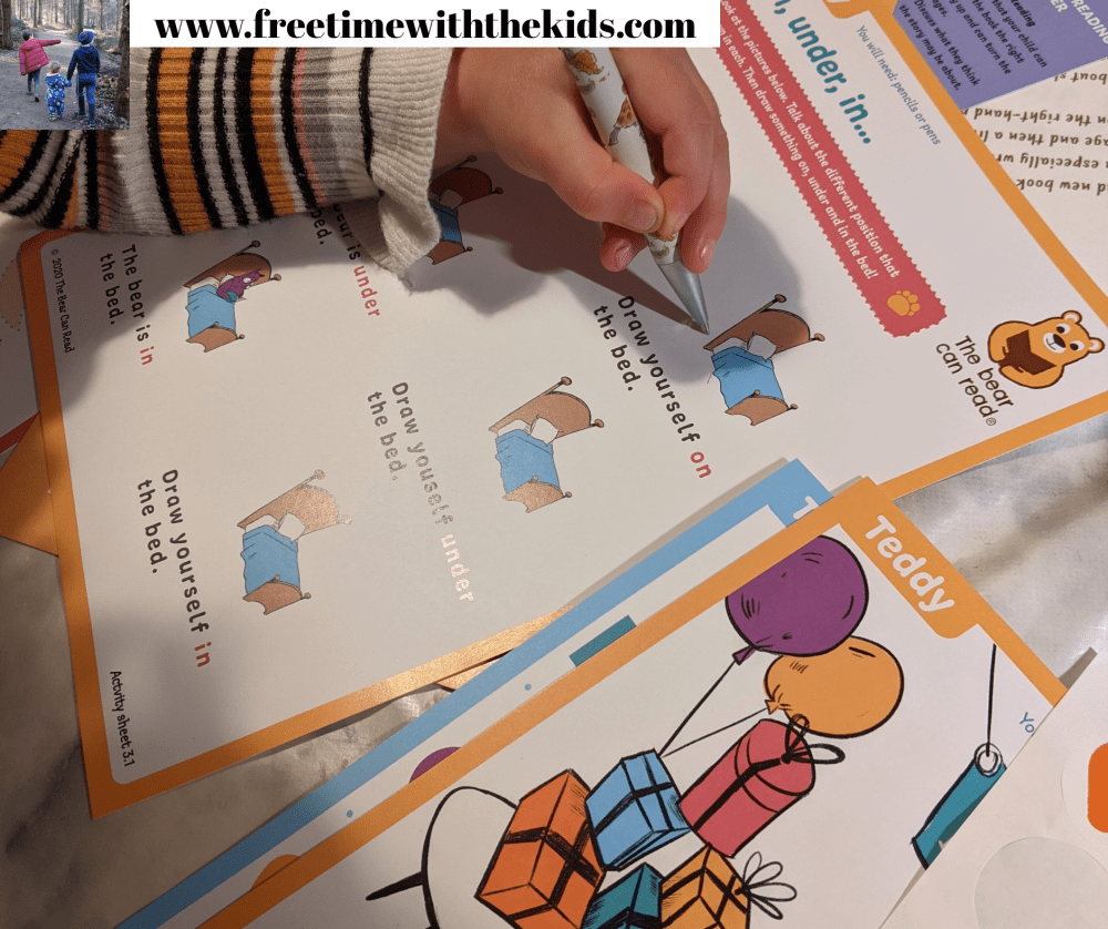 Free Time with the Kids | Children's monthly subscription boxes