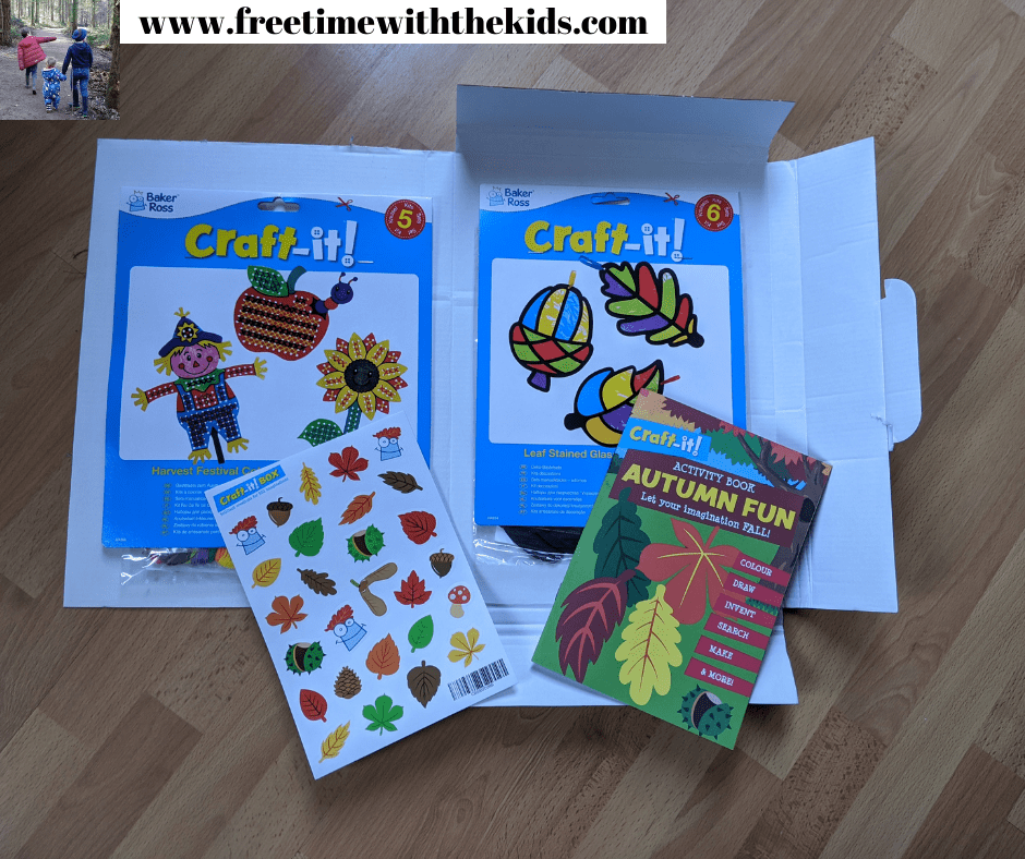 Craft-It! Box Review | Craft subscription box for kids | Free Time with the Kids