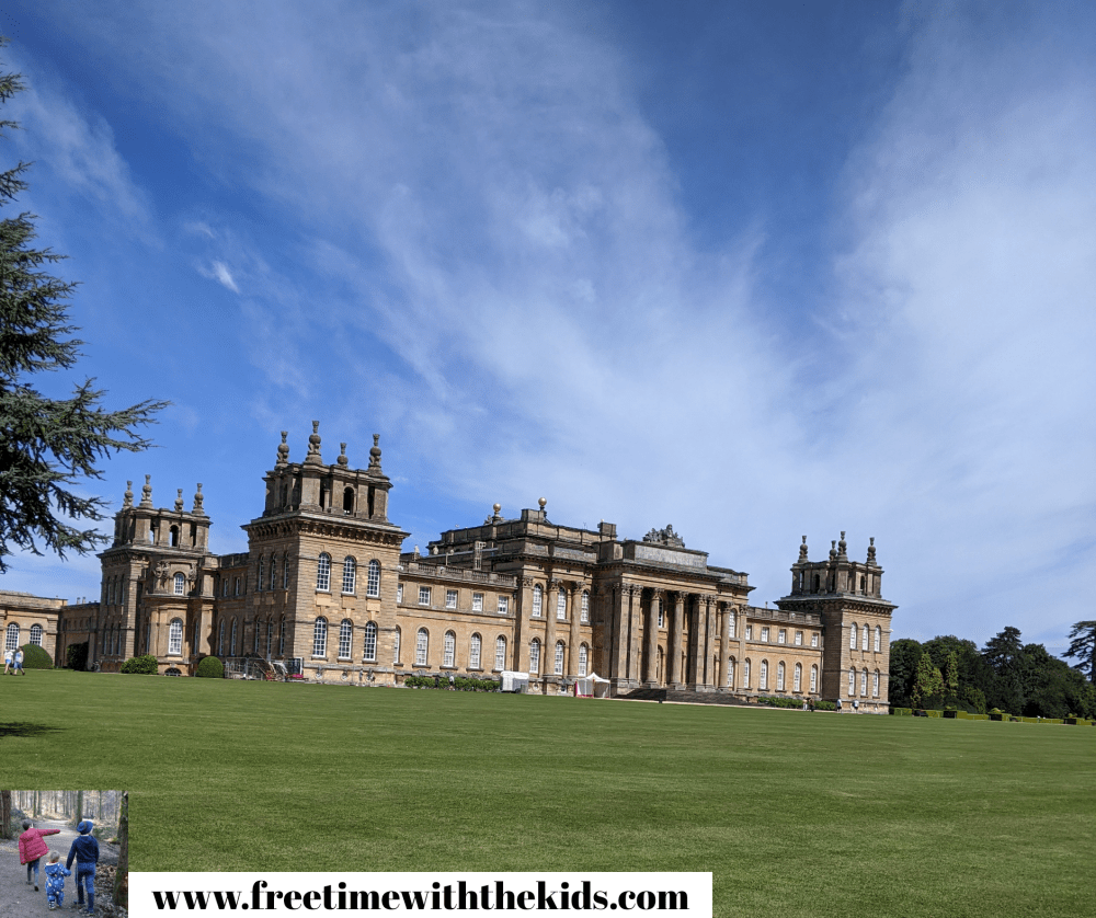 Blenheim Palace review | Family days out in Oxfordshire | Review by Free Time with the Kids