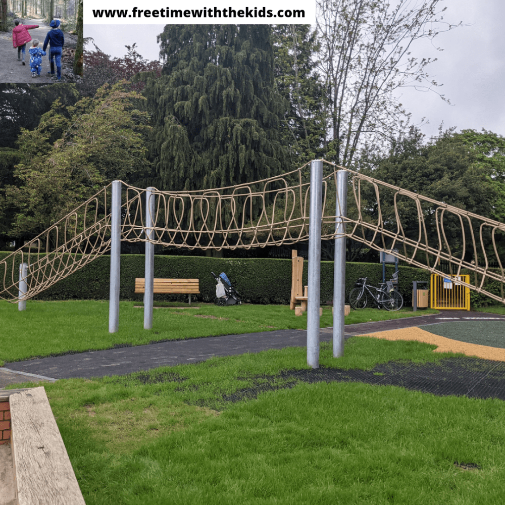 Clarence Park & playground in St Albans, Hertfordshire | Review by Free Time with the Kids | Free things to do with children in Herts
